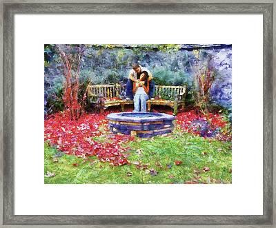 Wishing Pond Framed Print by Jai Johnson