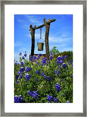 Wishing Well Framed Print