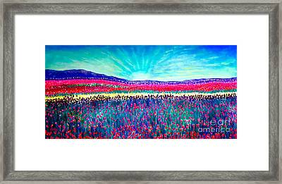 Wishing You The Sunshine Of Tomorrow Framed Print