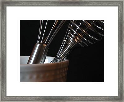 Wisks Framed Print
