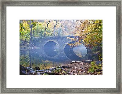 Wissahickon Creek At Bells Mill Rd. Framed Print