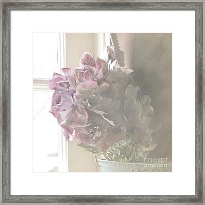 Wistful Framed Print by Cindy Garber Iverson
