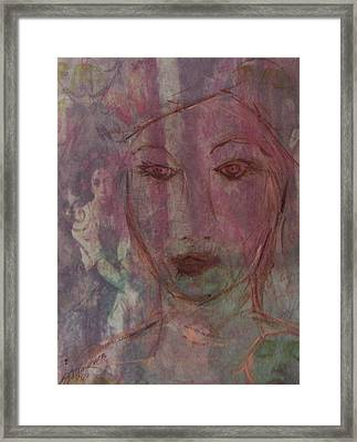 Wistful Dreams Framed Print by Cathy Minerva