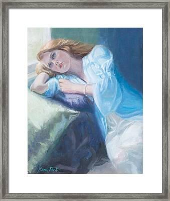 Wistful Framed Print by Sarah Parks