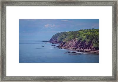 Wistful Songs Of The Ocean Framed Print