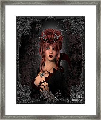 Witch Beauty Framed Print