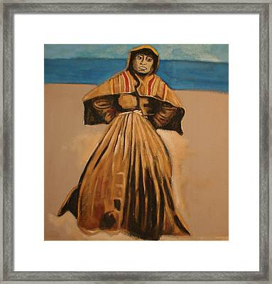 Witch By The Sea Framed Print by Biagio Civale