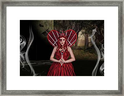 Witch Queen Of New Orleans Framed Print