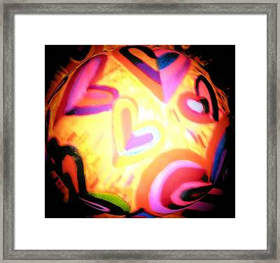 Witches Ball Framed Print by Brenda Adams