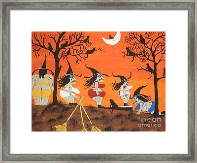 Witches Biggest Loser Framed Print
