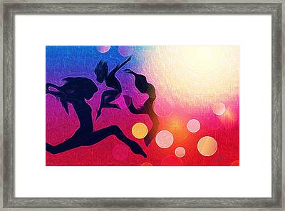 Witches Dance Framed Print