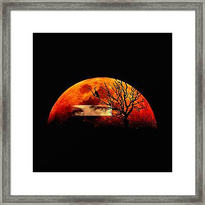 Witching Hour Framed Print by Frances Lewis