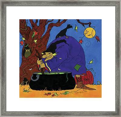 Witch's Brew Framed Print