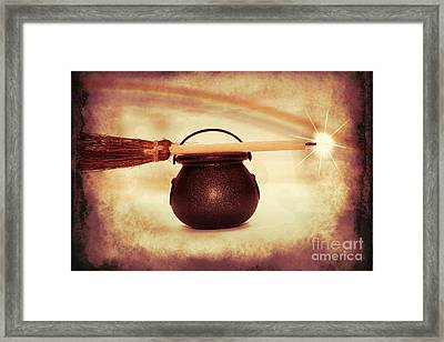 Witchy Framed Print by Linda Matlow