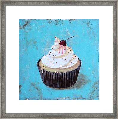 With A Cherry On Top Framed Print