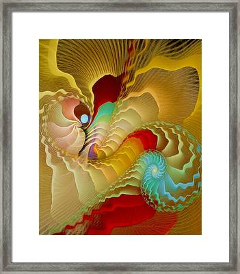 With A Gentle Breath Framed Print by Gayle Odsather