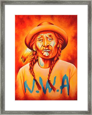 With Attitude Framed Print by Robert Martinez