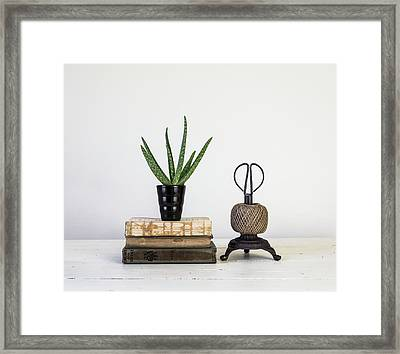 Framed Print featuring the photograph With Confidence by Kim Hojnacki