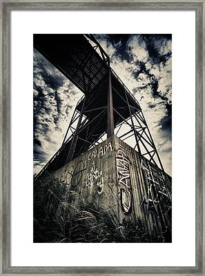 With Glowing Hearts We See Thee Rise... Framed Print by Russell Styles