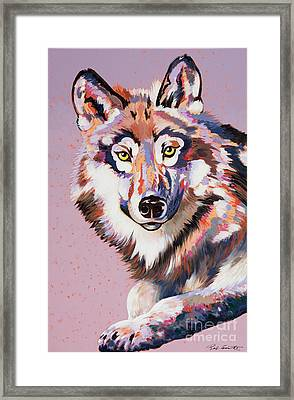 With Intent Framed Print