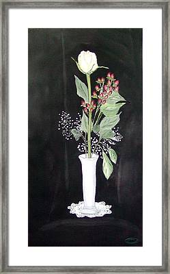 With Love Framed Print by Sharon Steinhaus