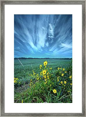 With New Meaning Framed Print