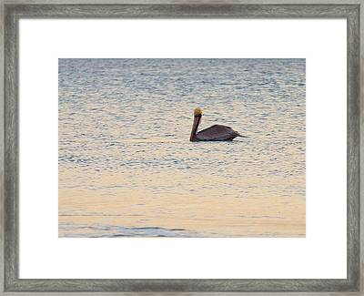 With No World To See Only  Framed Print