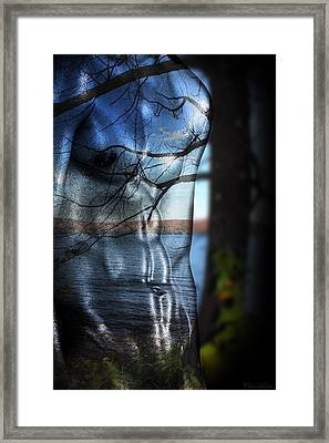 With The Back To The Sea  Framed Print by Mark Ashkenazi