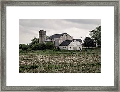With The Passage Of Time Framed Print