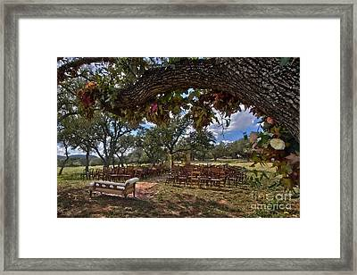 With This Ring...2 Framed Print