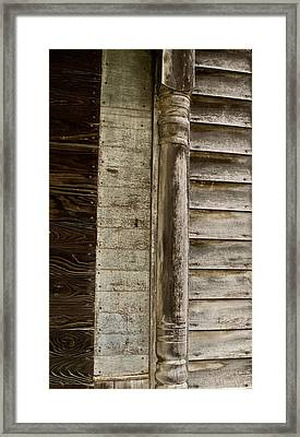 Withered House Decorations Framed Print by Douglas Barnett