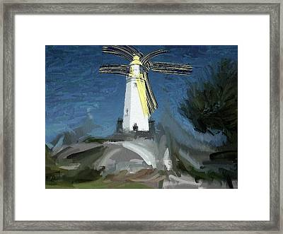 Withernsea Lighthouse Framed Print by Phil Ward