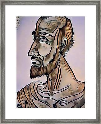 Within Ainciant Greece Framed Print by Joshua Massenburg