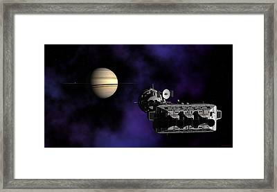 Framed Print featuring the digital art Within Reach by David Robinson