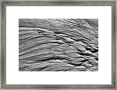 Within Sea And Sand Framed Print by Tim Gainey