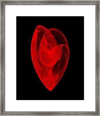 Within Shell II Framed Print
