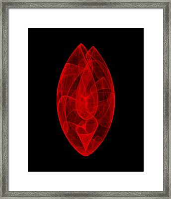 Within Stone Vi Framed Print