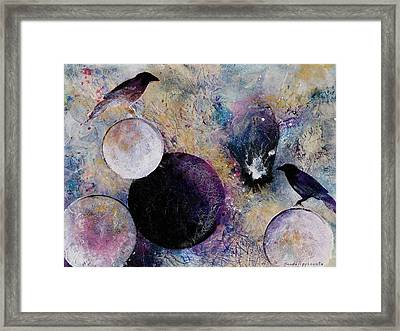 Within The Distant Aidenn Framed Print by Sandy Applegate