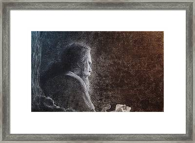 Within The Flicker Of Dreams Framed Print