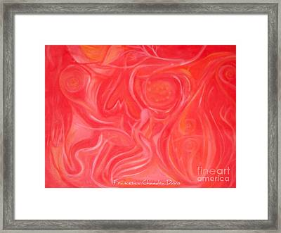 Within The Heart Framed Print by Sacred  Muse