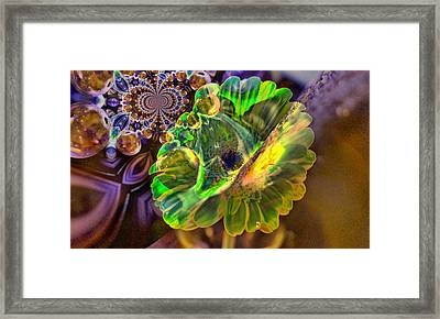 Framed Print featuring the photograph Within The Mind Meld by Jeff Swan