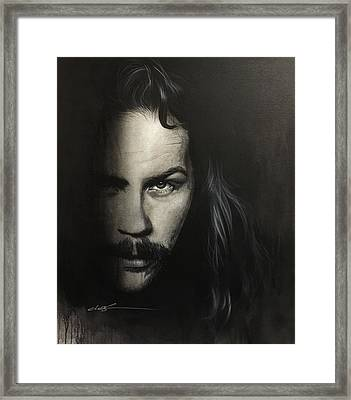 Within The Shadows Of Darkness Framed Print
