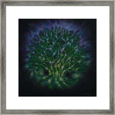 Within The Tree... Framed Print by Mageswary Manickam