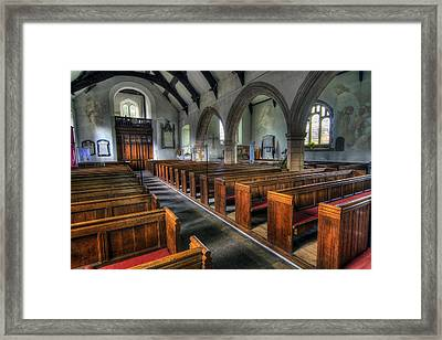 Within Thy House For Ever Framed Print