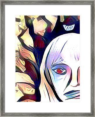 Within The Darkness Framed Print by Joshua Massenburg