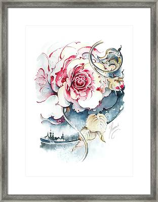 Without Fear Of The Storm Framed Print