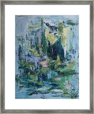 Without Seeing Framed Print