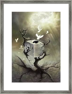 Without Walls Framed Print by Ulysses Albert III
