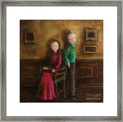 Without Words Framed Print by Mya Fitzpatrick