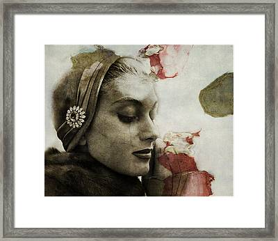 Framed Print featuring the mixed media Without You  by Paul Lovering